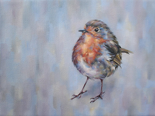 Little Robin Redbreast print