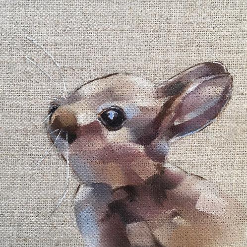 Bunny card & envelope