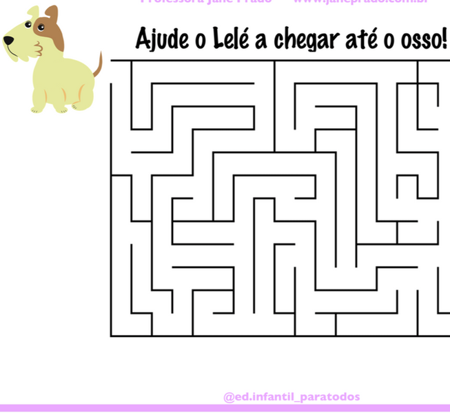 """Labirinto """"Cadê Todo Mundo?"""" Colorido"""