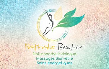 Carte de visite Nathalie Beghin