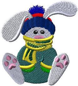 364881 Winter Bunny