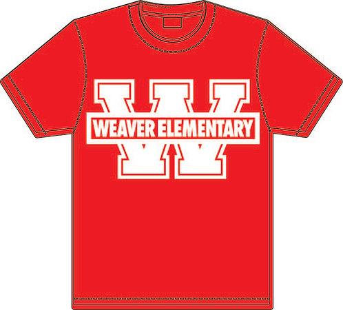 5th Grade Red Tee Shirt