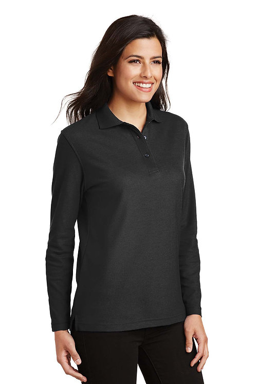 L500LS Port Authority Ladies Long Sleeve Polo