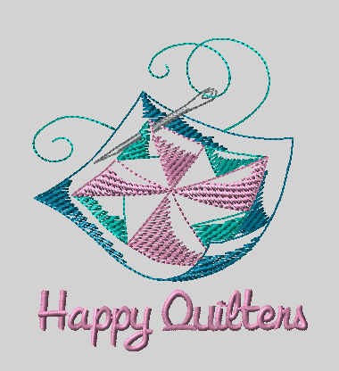 Happy Quilters Logo