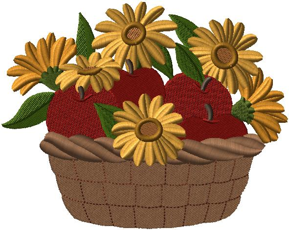 Autumn embroidery designs