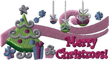 D2324 Merry Frosty Chrsitmas