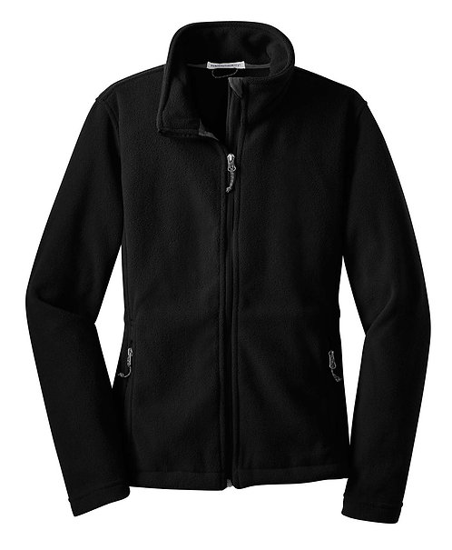 L217 Ladies Fleece Jacket w/Carver Text Logo
