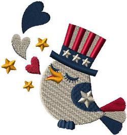 Patriotic Bird 552871