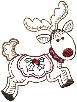 479041 Holly Jolly Reindeer