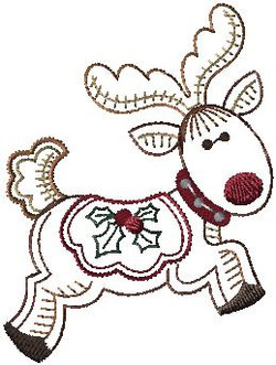479041 Holly Jolly Reindeer