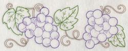 J4413 Grape Vine Border