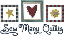 C4990 Sew Many Quilts