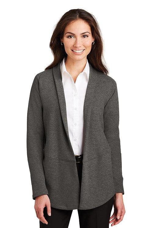 CL807 Port Authority® Ladies Interlock Cardigan