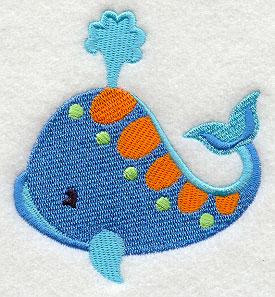 E4829 Deep Blue Sea Whale