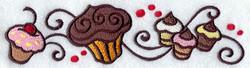 E3466 Cupcake Border