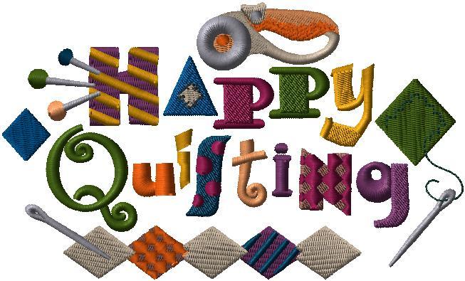 F7768 Happy Quilting