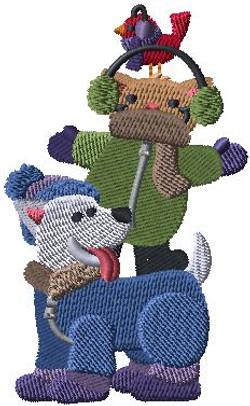 497481 Snowsuit Animal Stack