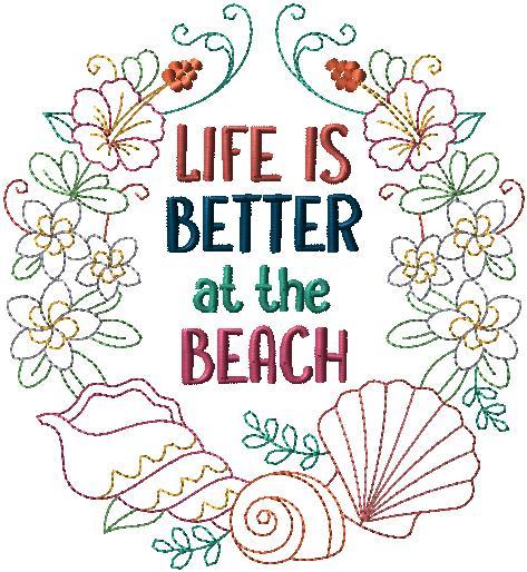 l3682 Beach Wreath