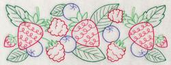 J4583 Mixed Berry Border