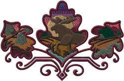 e7036 Moose Autumn Leaves