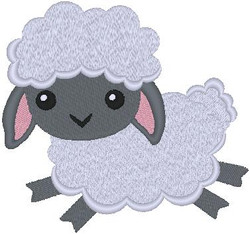 537401 Fluffy Lamb