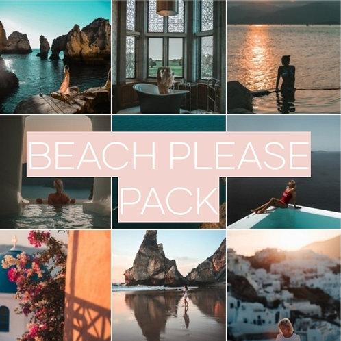 Beach Please Mobile & Desktop