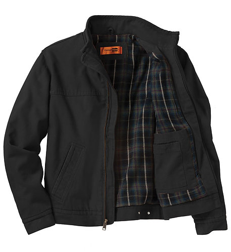 CSJ40 CornerStone® - Washed Duck Cloth Flannel-Lined Work Jacket