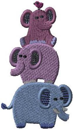 426811 Elephant Stack