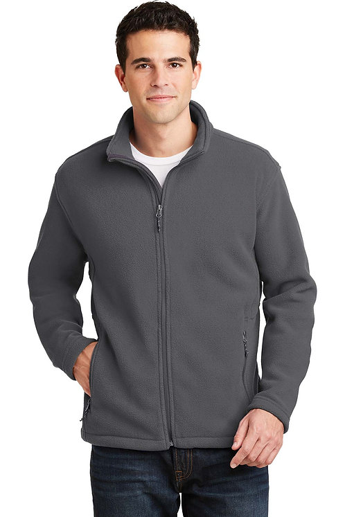 F217 Men's Fleece Jacket w/Carver Text Logo