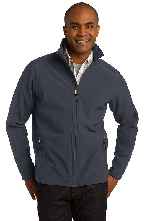 TLJ317 Port Authority® Tall Core Soft Shell Jacket