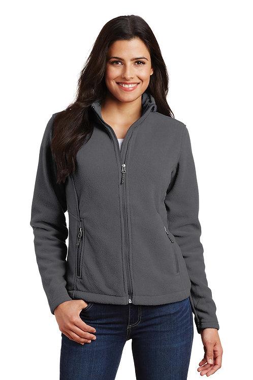 L217 Ladies Fleece Jacket w/Wolverine Logo