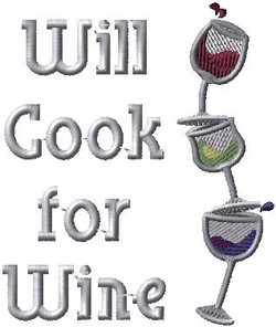 Will Cook for Wine