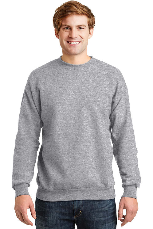 P160 Hanes Crew Neck Sweat Shirt