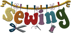 F9645 Sewing Clothesline