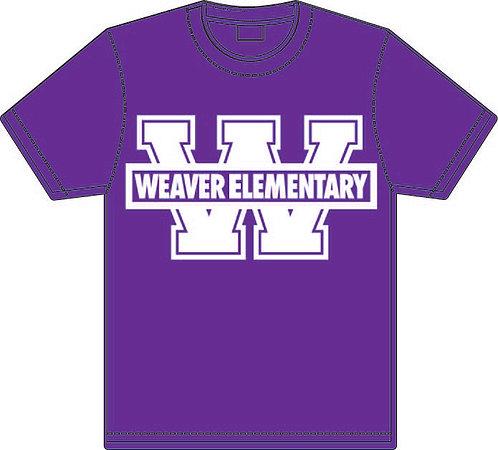 2nd Grade Purple Tee Shirt