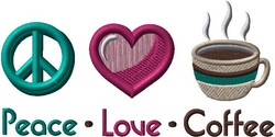G7312 Peace Love Coffee