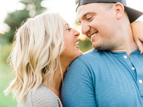 Laid-Back Summer Engagement Session | Emma + Drake