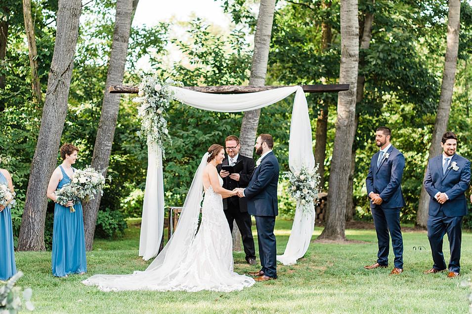 boho outdoor wedding