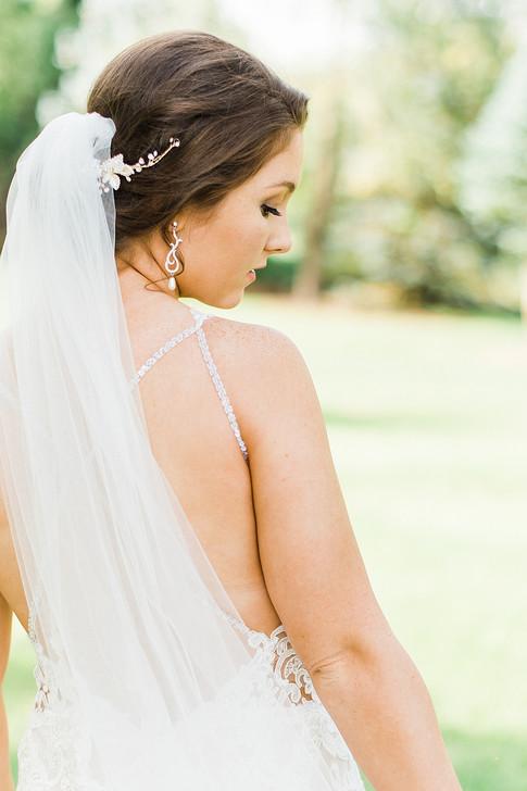 simple bridal jewelry