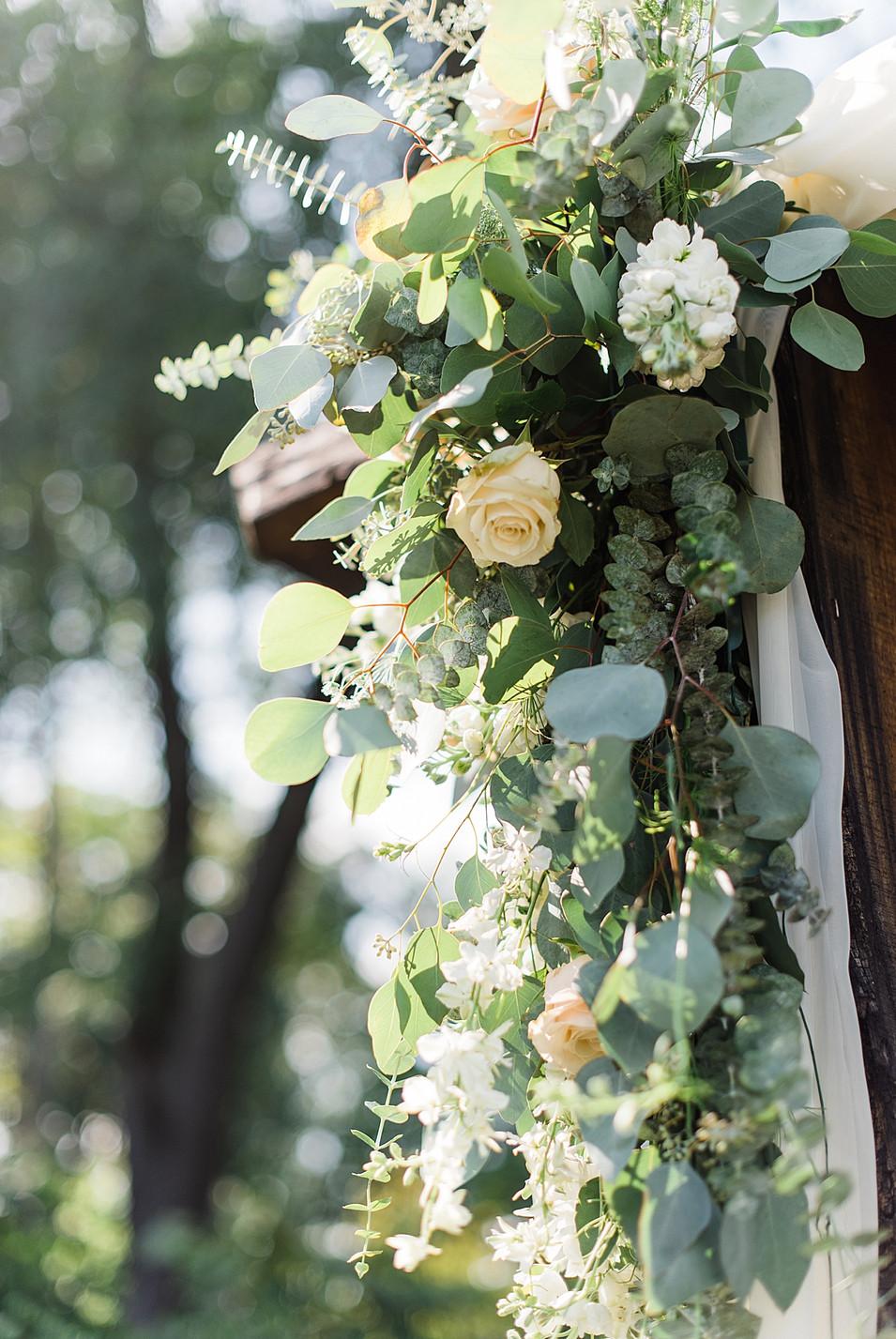boho wedding floral