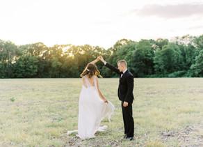 Intimate Backyard Wedding | Dana + Ryan