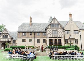Literary Charm Wedding at Ewing Manor | Dave + Lizzie