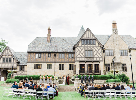 Literary Charm Wedding at Ewing Manor | Dave + Lizzie