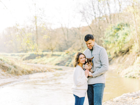 Sunny Midwest Engagement Session | Jesla + Sam