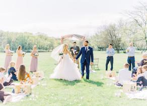 Romantic Picnic Style Wedding | Rachelle + Andy