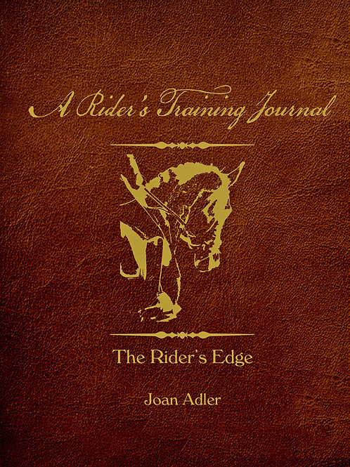 A Rider's Training Journal
