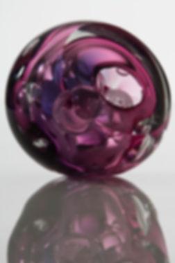 SSR001 Brain Series sculpture contemporary blown glass