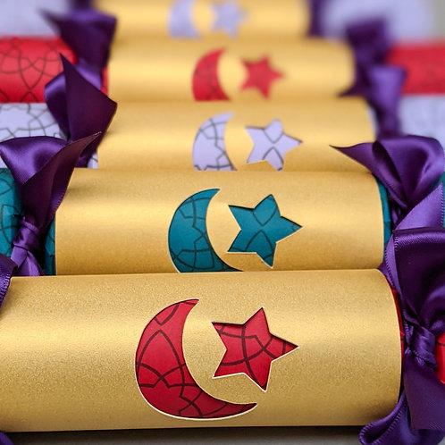 Eid Mubarak Crackers Box or Three or Six