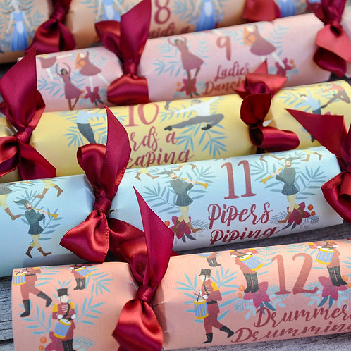 The Twelve Days of Christmas, Box of 12 Christmas Crackers