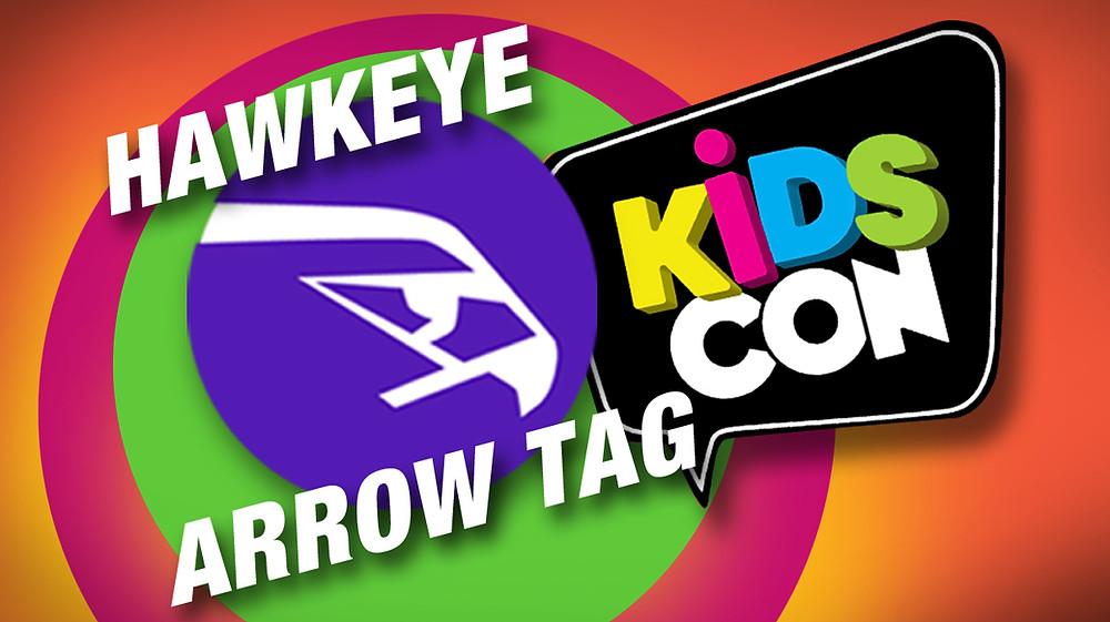 Hawkeye Arrow Tag at KidsCon